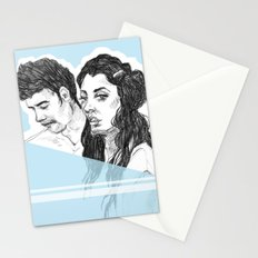 Pale Blue Stationery Cards