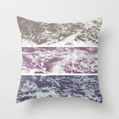 Saltwater tryptych Var I Throw Pillow
