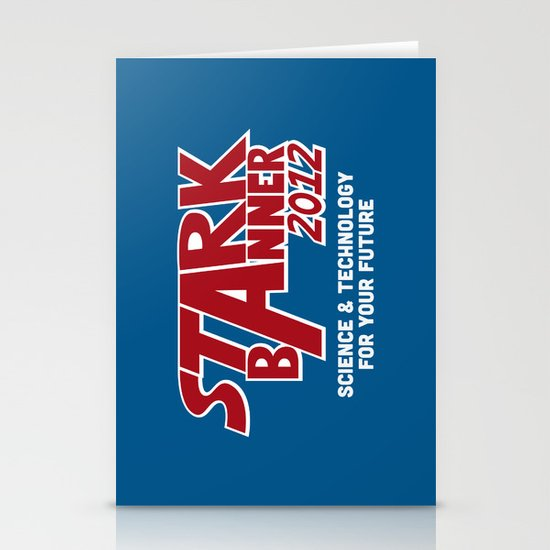 Stark Banner 2012 Stationery Card