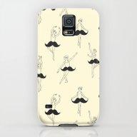 The Ballet Of Mustache Galaxy S5 Slim Case