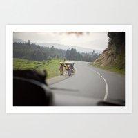 strength::rwanda Art Print