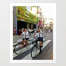 Shibuya Art Print