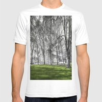 Buckingham Palace Mens Fitted Tee White SMALL