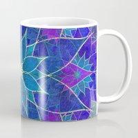 Lotus 2 - Blue And Purpl… Mug