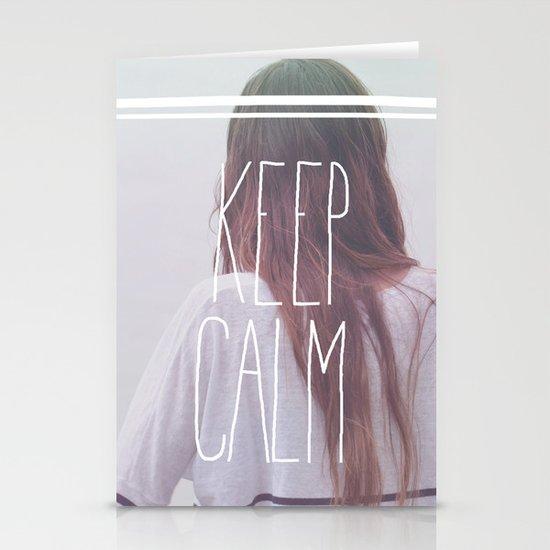 Wander (Keep Calm) Stationery Card