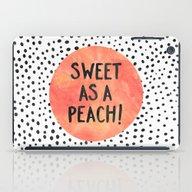 Sweet As A Peach! iPad Case