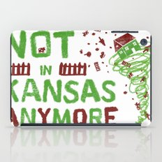 not in Kansas anymore iPad Case