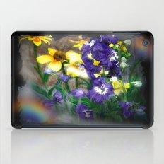 wildflowers / nature, flora, still life,  iPad Case