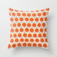 Citrus/Geo Throw Pillow