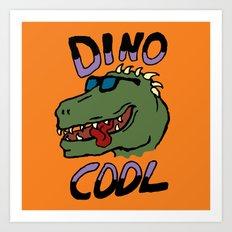 Dino Cool Art Print