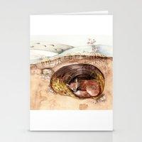 Fox's Den Stationery Cards