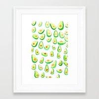 Avocado's Framed Art Print