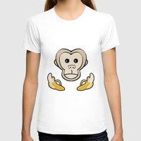 monkey T-shirts featuring Monkey by Nir P