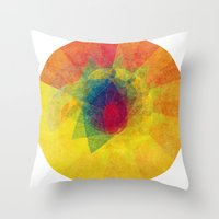 Joy Begins Here Throw Pillow