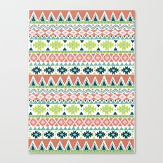 Aztec Stripe Canvas Print