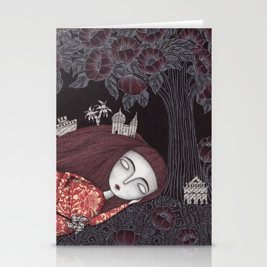 Tree of Forever Dreams Stationery Card