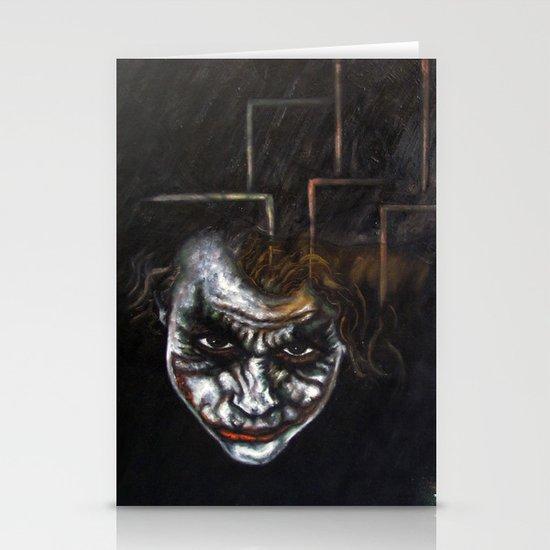 """Joker"" Stationery Card"