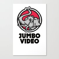Jumbo Video Canvas Print