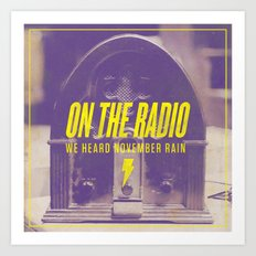 Regina Spektor - On the Radio Art Print
