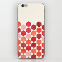 Red Tiles iPhone & iPod Skin