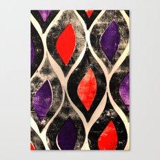 Press print ogee pattern Canvas Print