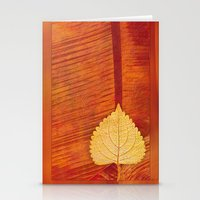 Lonely Leaf Stationery Cards