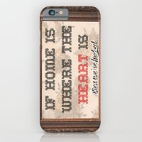 Home Is Where The  iPhone 6 Slim Case