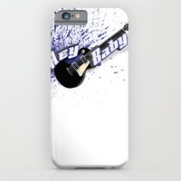 Hey Baby Guitar iPhone 6 Slim Case