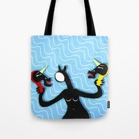 Faced To Choose Tote Bag