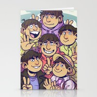 Osomatsu san Stationery Cards