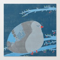 Bird Of Happiness Canvas Print