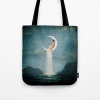 Moon River Lady Tote Bag