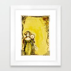 Cymbeline - Shakespeare Folio Illustration Framed Art Print