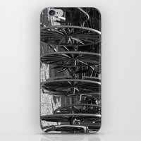 Amish buggy wheels iPhone & iPod Skin