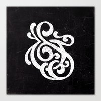 Ampersand (Danpersand) Canvas Print