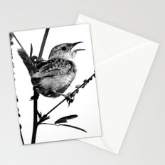 Sedge Wren Stationery Cards