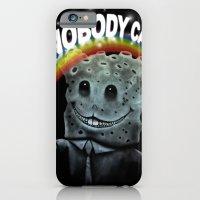 iPhone & iPod Case featuring Nobody Cares by Thiago García