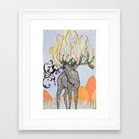 How Glorious Is His Tong… Framed Art Print