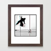 Window^Cleaning Framed Art Print