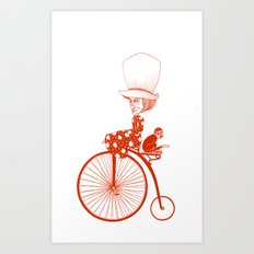 Affenradoma Art Print