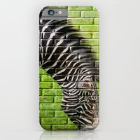 Zebra on the Wall iPhone 6 Slim Case
