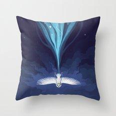 Night Owl 2 Throw Pillow