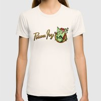 Poison Ivy Bombshell Womens Fitted Tee Natural SMALL