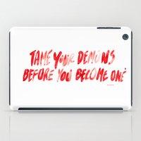 Demons iPad Case