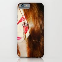 iPhone & iPod Case featuring Blood + Lipstick by Kelsey Crenshaw