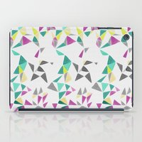 watercolor geometry  iPad Case