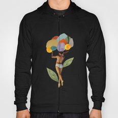 i walk out in the flowers and feel better Hoody