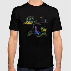 shopping on alpha BIX SMALL Black Mens Fitted Tee