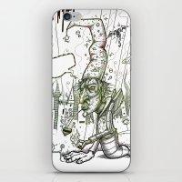 El brujo iPhone & iPod Skin