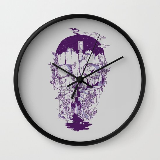 Inside My Head 2.0 Wall Clock